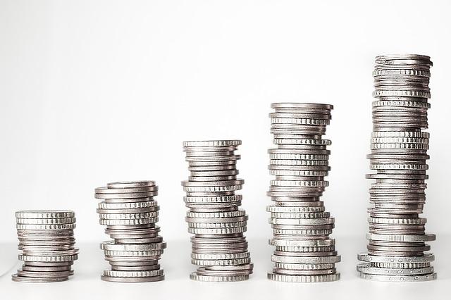 mince stříbrné
