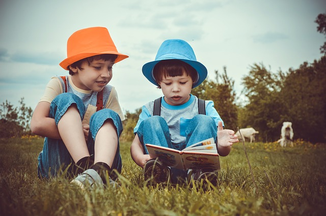 čtění chlapců