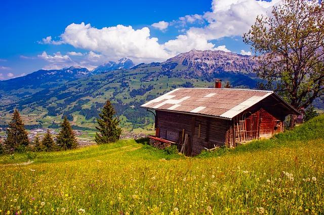 chatka v horách
