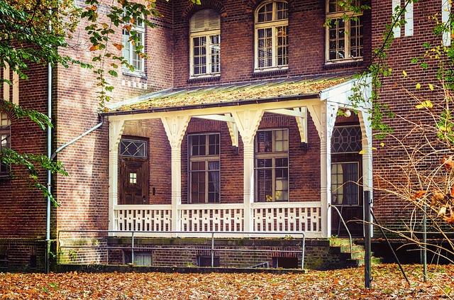 zastřešená terasa u domu