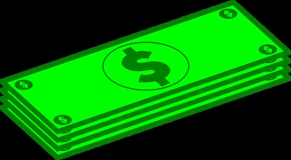 nakreslené dolary